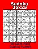 Sudoku 25x25 50 Giant Hard Sudoku Puzzles