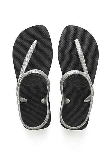 Havaianas Kinder Flip Flops Allure Grösse 43/44 EU (41/42 Brazilian) Schwarz Zehentrenner für Kinder Tcb1umwxZ