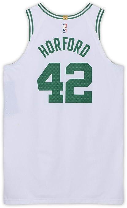 766c54cab58 Al Horford Boston Celtics Game-Used #42 White Jersey vs. Miami Heat ...