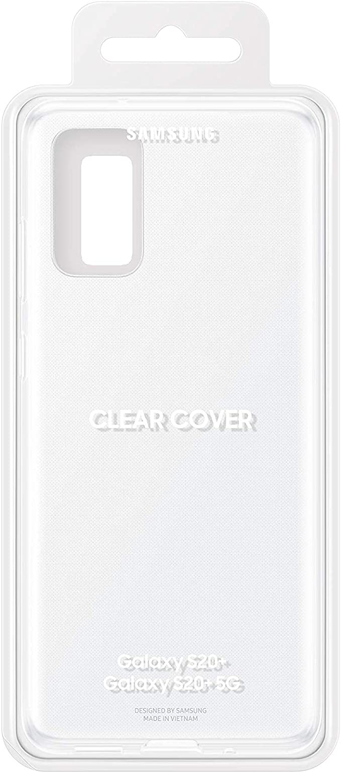 Samsung Clear Cover Smartphone Cover Ef Qg985 For Galaxy S20 S20 5g Mobile Phone Case Extra Thin And Grippy Transparent Elektronik