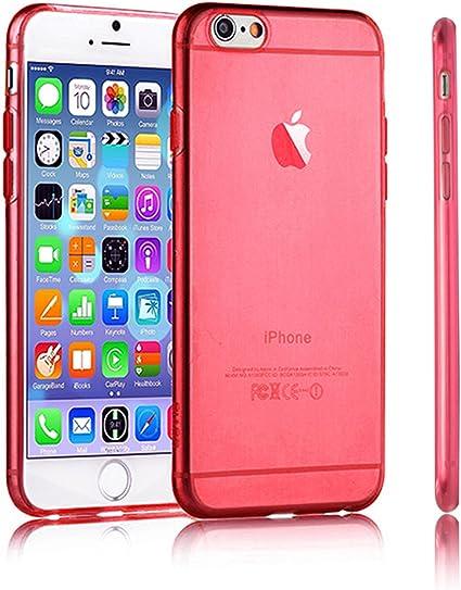 Swees® Case Cover Per iPhone 6 Plus & iPhone 6 (Rosso, Apple iPhone 6 (4.7