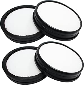 4 Pack of Replacement Hoover WindTunnel 3 Pro Pet Bagless Upright UH70935 Vacuum Primary Filter - Compatible Hoover Windtunnel 303903001 Primary Filter
