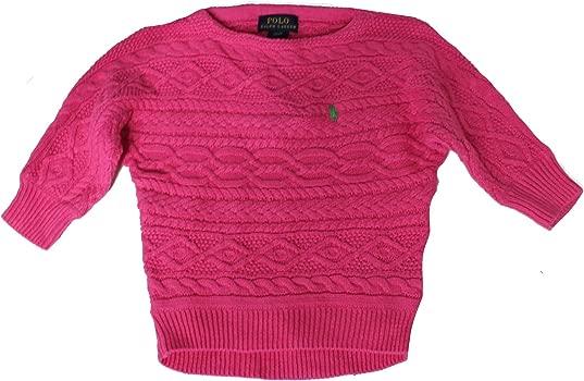 Polo Ralph Lauren - Jerséi - para niña Rosa Rosa 2T: Amazon.es ...