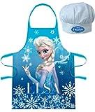 Tablier + Toque Disney Frozen La Reine des Neiges Elsa Cuisine Deguisement enfant 3 à 8 ans
