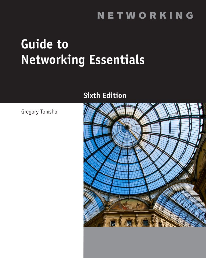 Amazon.com: Networking CourseMate (with eBook) for Tomsho's Guide to  Networking Essentials, 6th Edition: Software