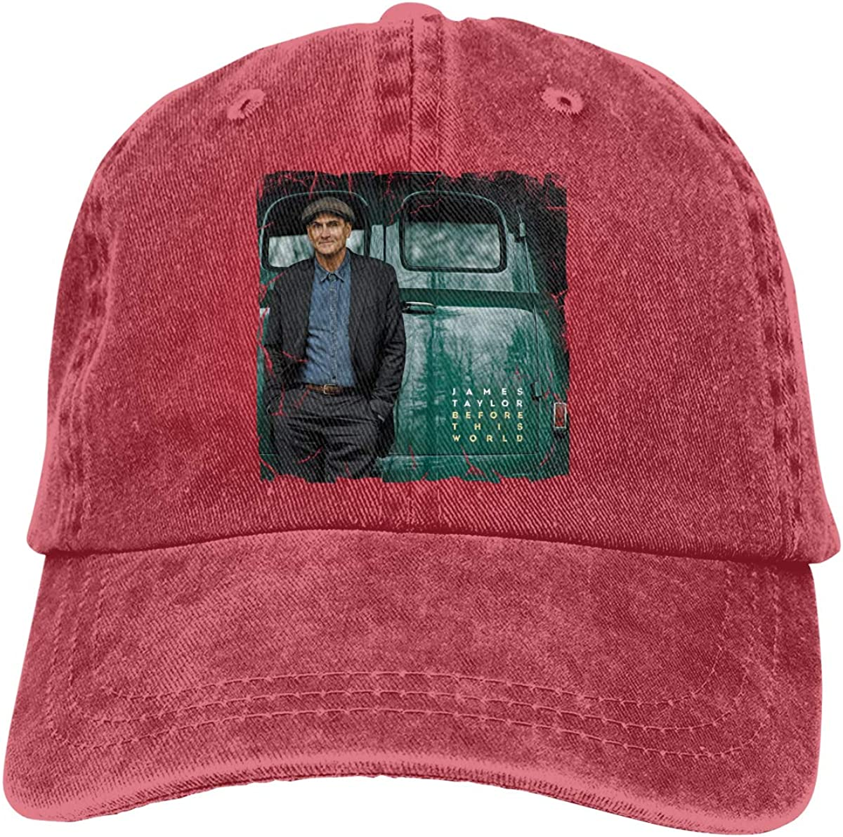 AlvaLynd Woman Mens Dad Hat Unisex James Taylor Before This World Baseball Cap Twill Adjustable