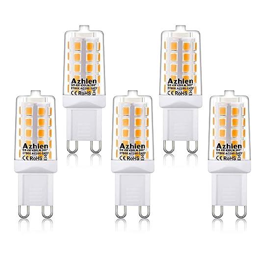 Højmoderne Azhien G9 LED Lampe 2700K,4W,Warmweiß,G9 LED Leuchtmittel Nicht VG-03