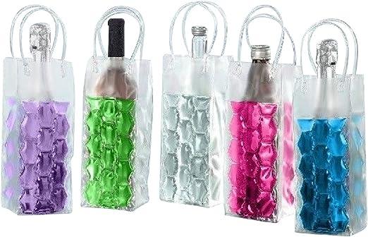 Compra 4 botellas Enfriador funda con gel Congelar Champán ...