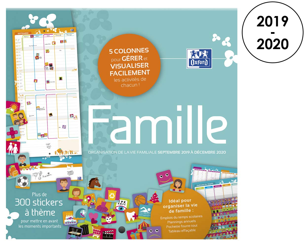 Calendrier Annuel 2020 2020.Top Calendriers Muraux Selon Les Notes Amazon Fr