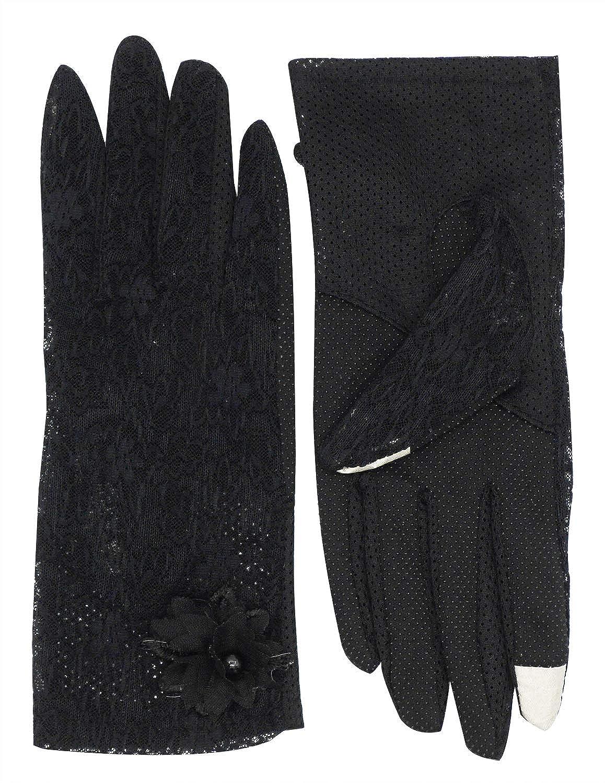 e682366eb Women's Summer UV Protection Glove Touchscreen Non-slip Gloves at Amazon  Women's Clothing store