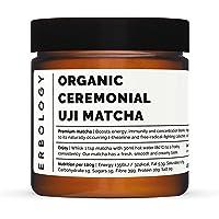 Organic Ceremonial Uji Matcha 40g - 100% Tencha Stone-Ground Green Tea