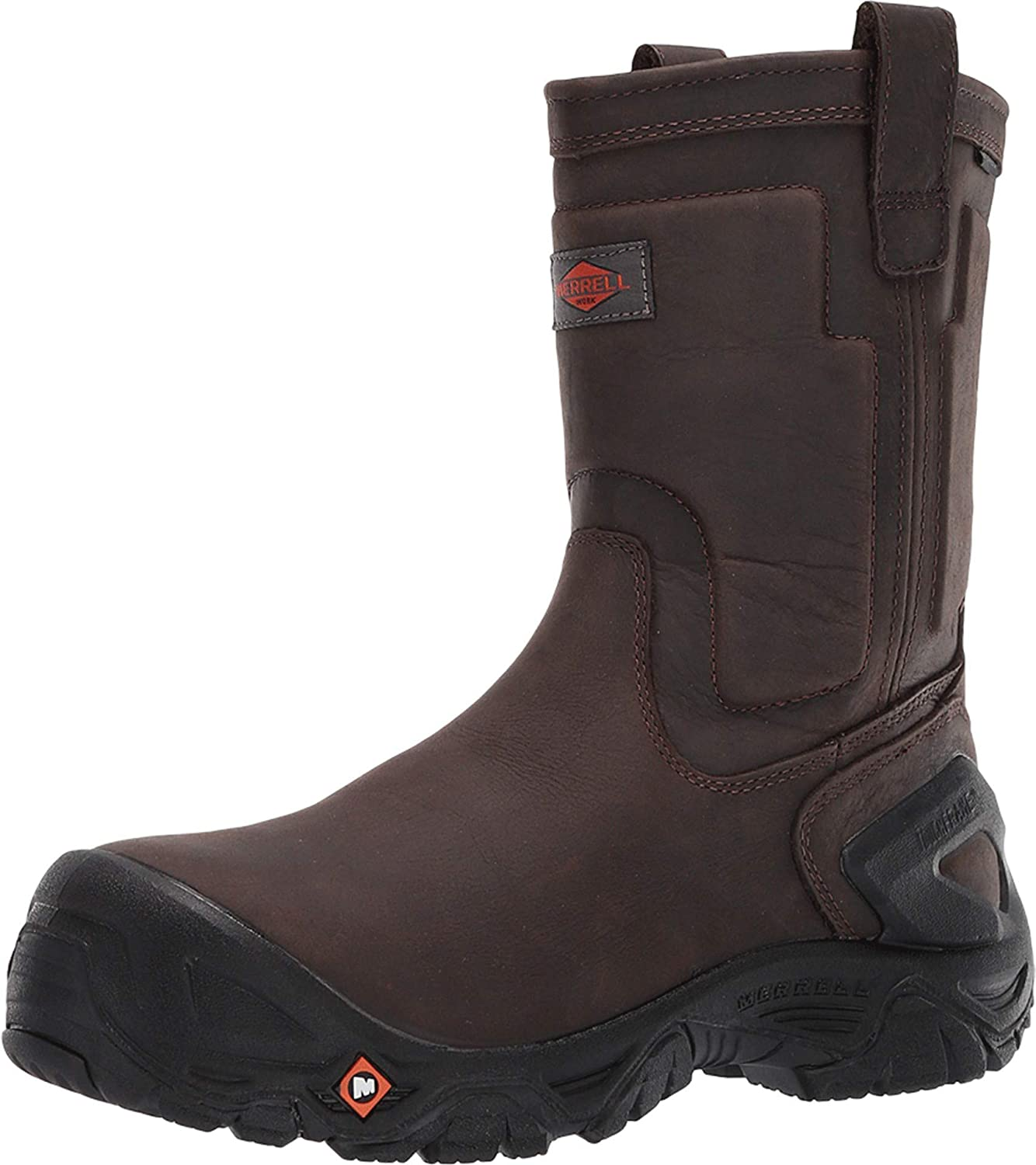 Merrell Work Strongfield Leather Pull