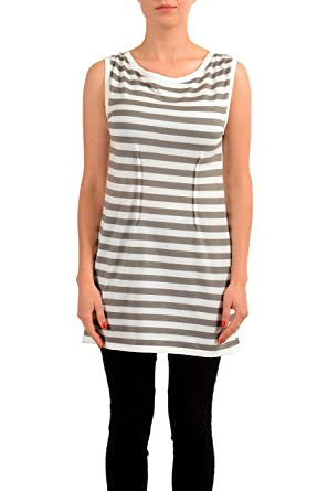 0733999ae55 Image Unavailable. Image not available for. Color: Maison Margiela MM6  Multi-Color Sleeveless Women's Knitted Tunic ...