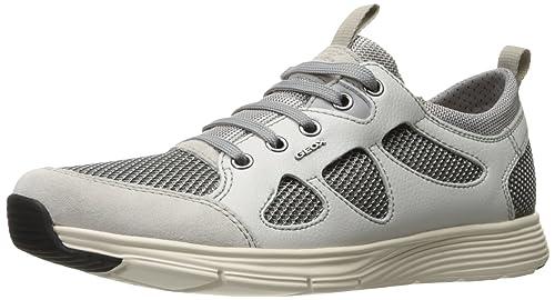 Geox M Snapish 2 - Zapatillas Para Hombre, Color Blanco, Talla 46 EU