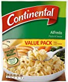 Continental Alfredo Pasta & Sauce Value Pack 145g