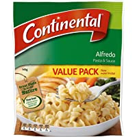 Continental Value Pack Pasta & Sauce Alfredo 5 Pack 145G