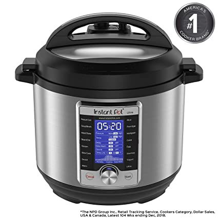 fa36fd59afe1 Instant Pot Ultra 6 Qt 10-in-1 Multi- Use Programmable Pressure Cooker