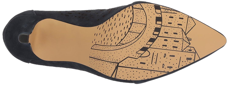 Bella Vita Women's Darlene Ankle Boot B076DLRVVW 8 W US|Navy Kid Suede