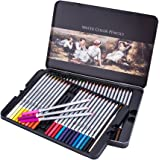 US Sense Lápices de colores colores surtidos Suministros de pintura de arte Lápices de dibujo para artista (48 color pencil)