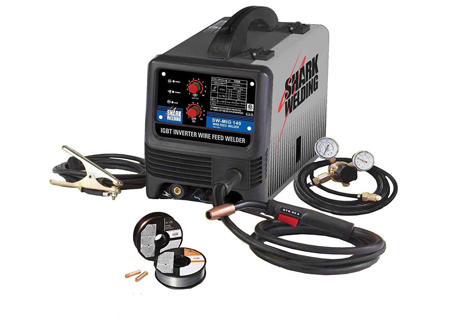 Shark Welding 17024 SW-MIG 140 Welder - Power Welders - Amazon.com