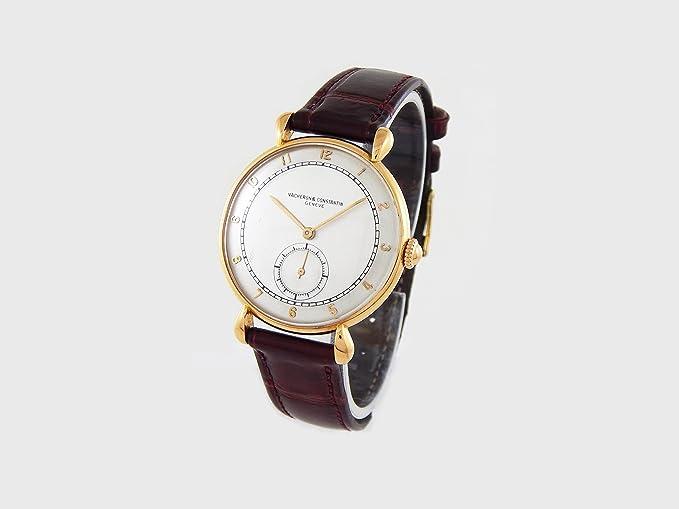 Vacheron Constantin Vintage mechanical-hand-wind Mens Reloj 4418 (Certificado) de segunda mano: Vacheron Constantin: Amazon.es: Relojes