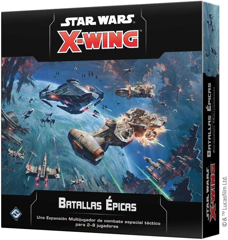 Fantasy Flight Games- Star Wars X-Wing 2.0: Batallas Épicas, Color (SWZ57ES): Amazon.es: Juguetes y juegos