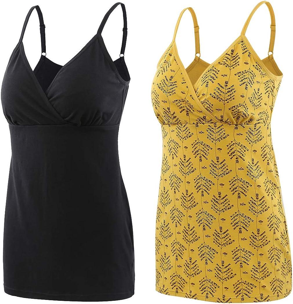Donna maternit/à Top pr/émaman T-Shirt Gravidanza Allattamento Top ZUMIY Abbigliamento Premaman Top