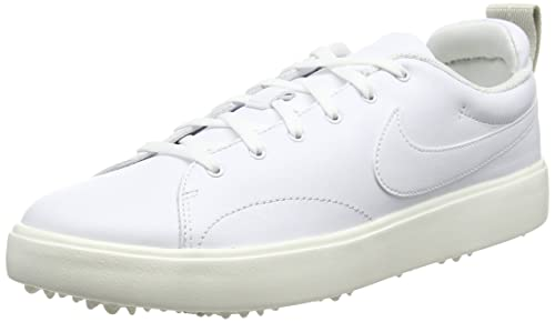 best service 630be 65b8c Nike Course Classic, Zapatillas de Golf para Hombre, Blanco  White/Sail/Black 100, 42.5 EU: Amazon.es: Zapatos y complementos