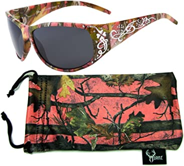 ca22acac498 Hornz Women s Pink   Hot Pink-Purple Camouflage Polarized Sunglasses
