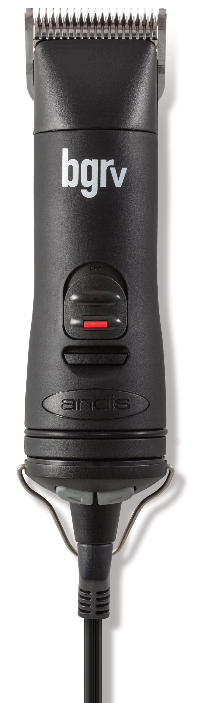 Andis 5-Speed Hair Clipper with Detachable Blade Kit, Black, Model BGRV (63100)