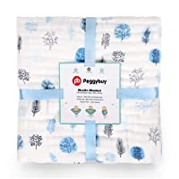 Deals on Pb Peggybuy Baby Bamboo Swaddle Blanket  47in. x 47in.