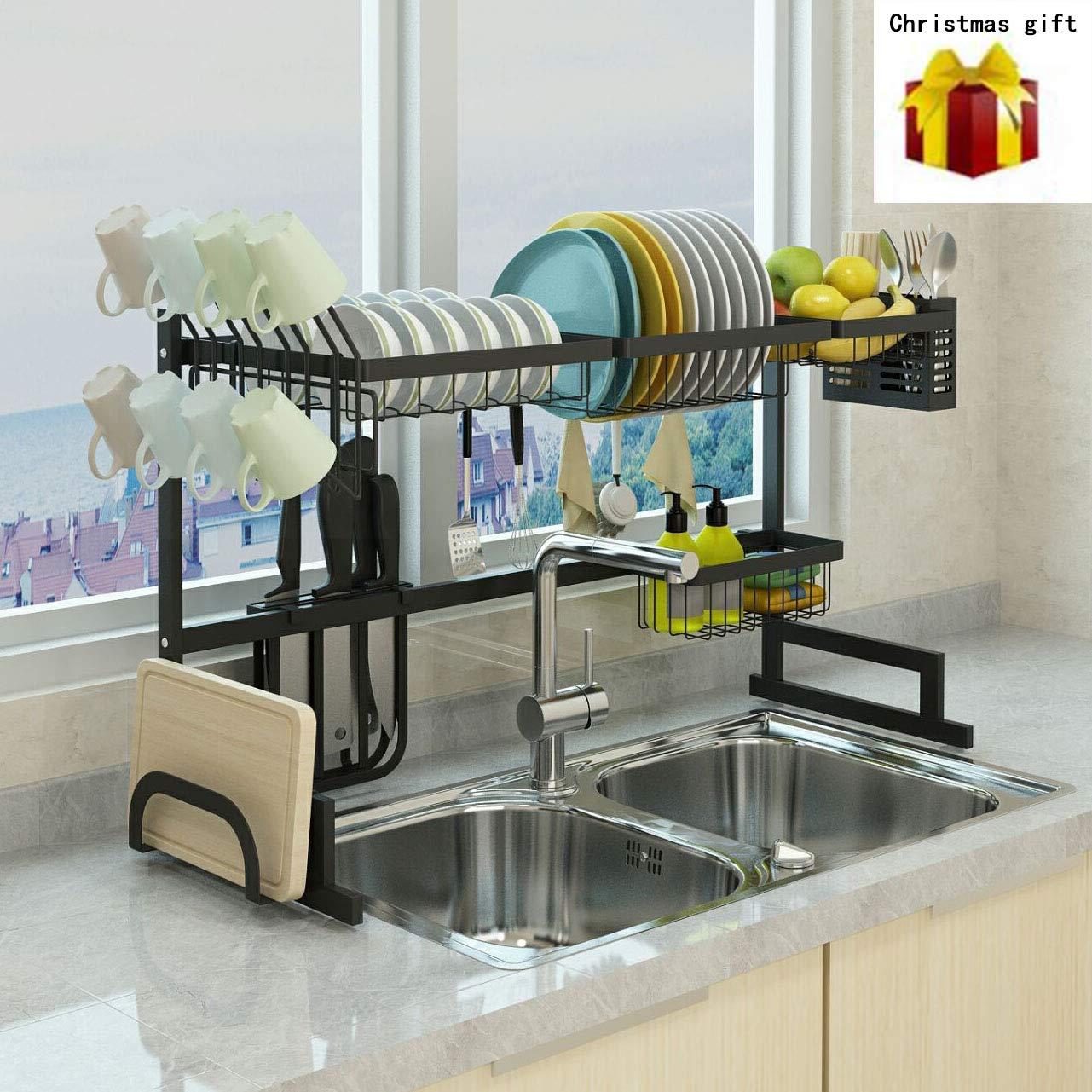 Fully Customizable Multipurpose Large Capacity PremiumRacks Professional Over The Sink Dish Rack