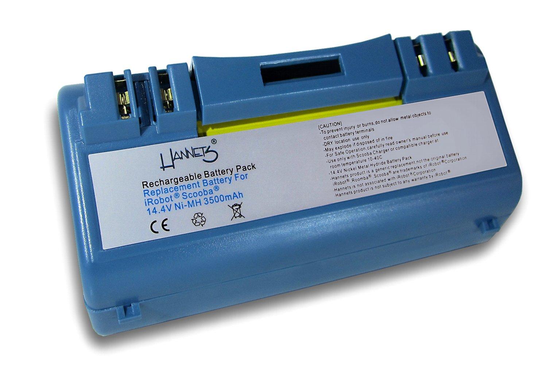 Batería para robot aspirador iRobot Scooba 3500 mAh de Hannets®: Amazon.es: Electrónica