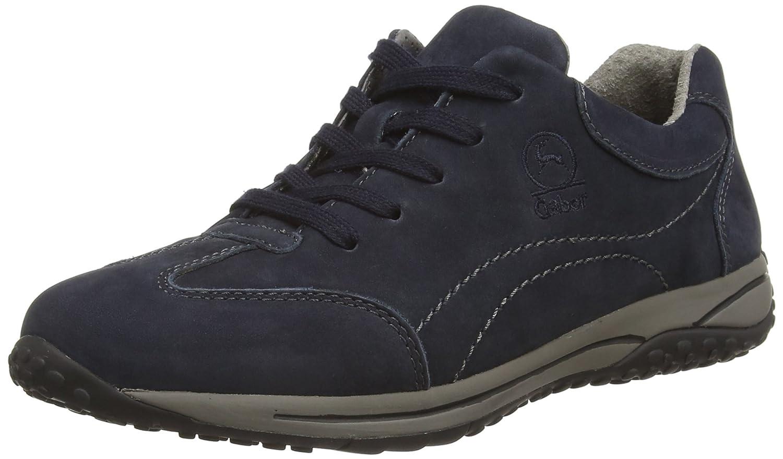 Gabor Geno - Zapatillas Mujer 42 EU|Azul (Nightblue S.schw)