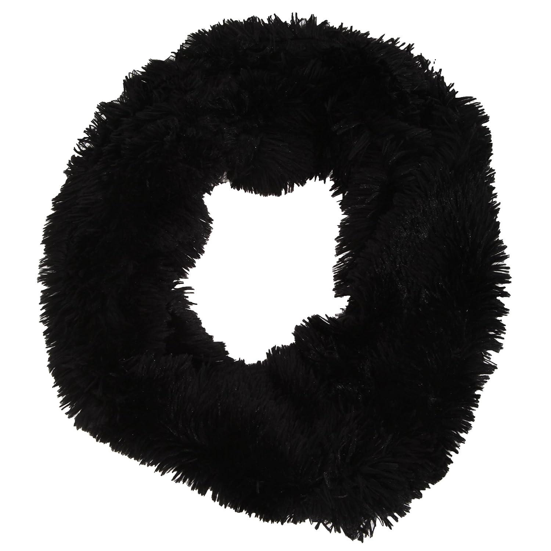 Womens/Ladies Soft Fluffy Winter Snood (One Size) (Black) Universal Textiles UTSK260_2