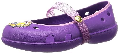 2d384cd6f752ae Crocs Keeley Disney Princess Flat K Girls Mary Jane  Apparel  202697-57H-