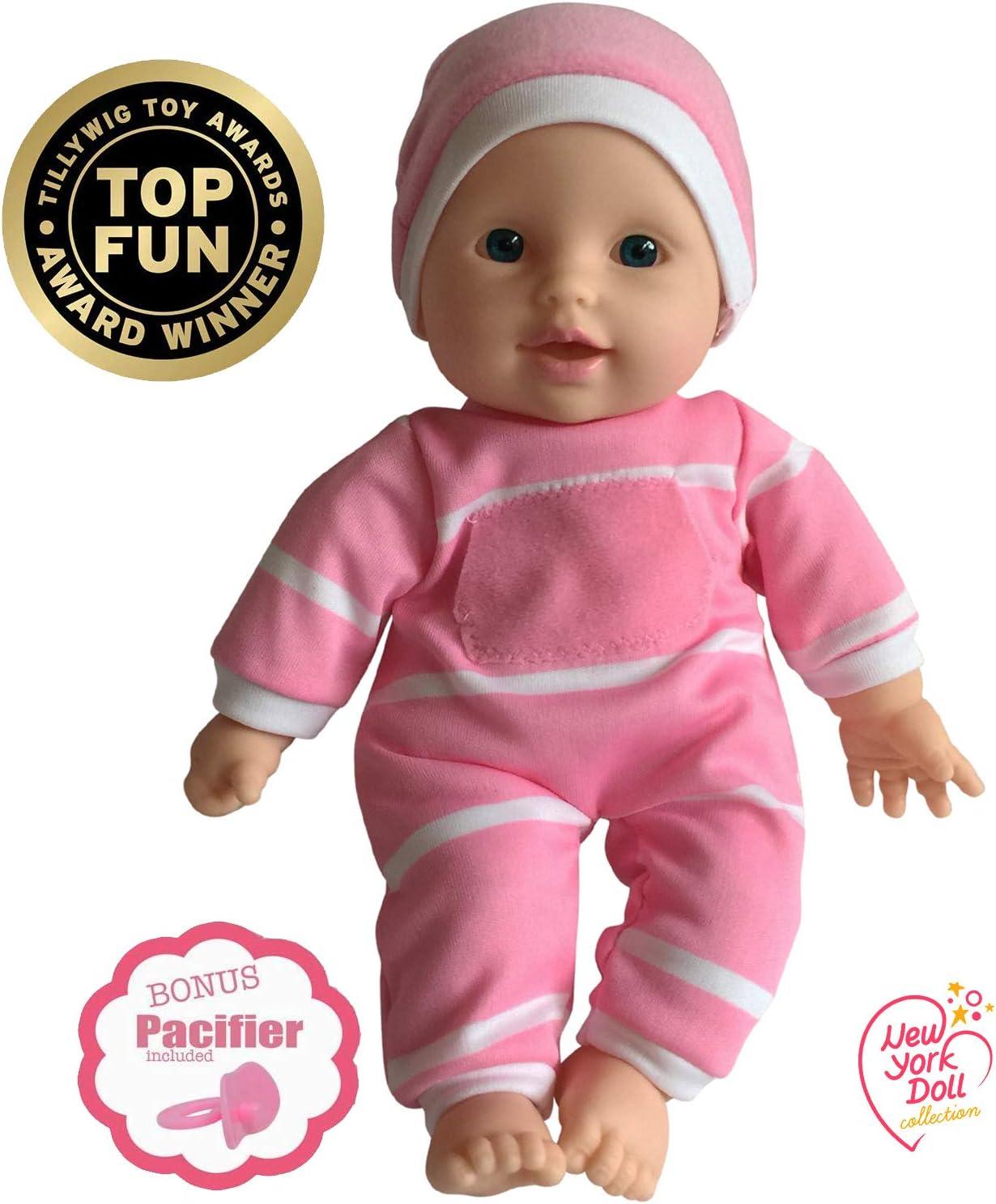 "11 inch Soft Body Doll in Gift Box - Award Winner & Toy 11"" Baby Doll (Caucasian) 71CzUZO2BcqL"