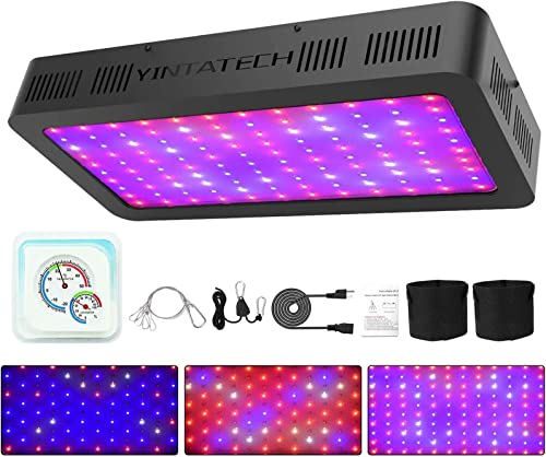 OSREE LED Grow Light 1000W Sunlike Full Spectrum High PPFD Commercial Linear Plant Lamps with UV IR for Greenhouse Indoor Plant Seeding Bloom and Veg,Cover 2x2ft, Daisy Chain Available