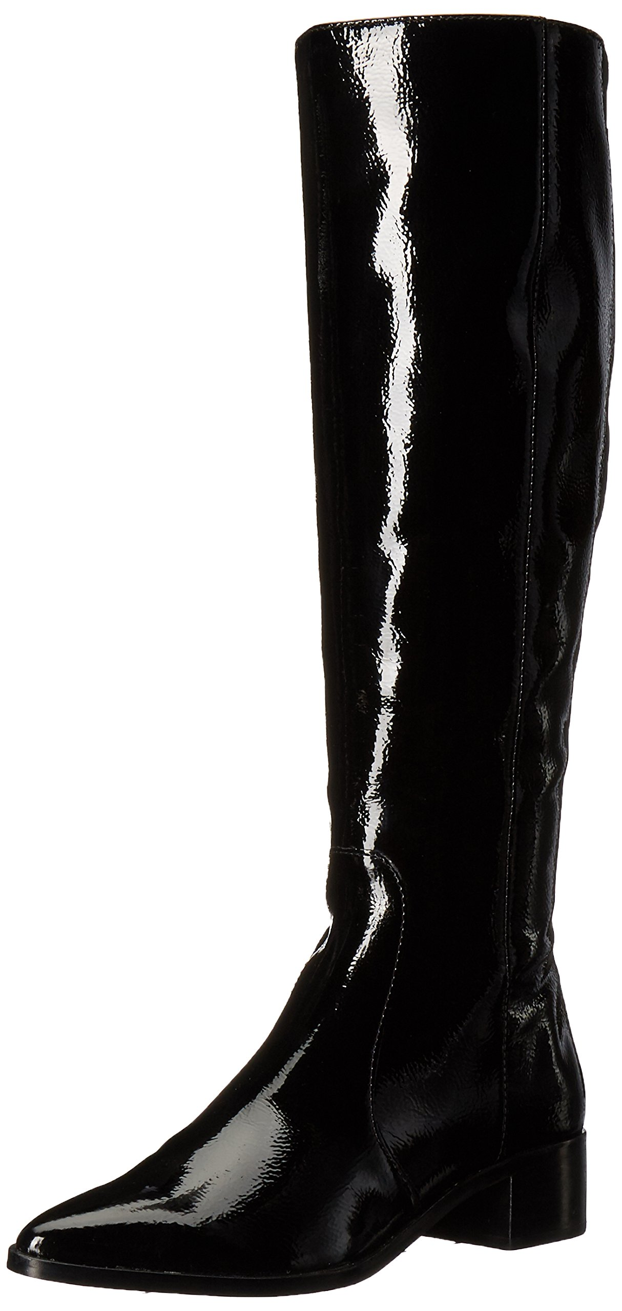 Dolce Vita Women's Morey Fashion Boot, Onyx Patent Stella, 8.5 Medium US