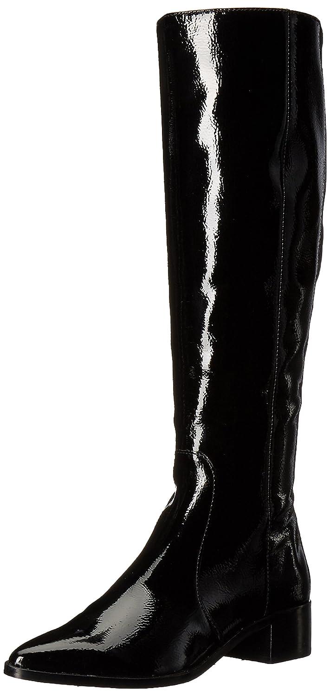 Dolce Vita Women's Morey Fashion Boot B071JN6PNN 9 B(M) US|Onyx Patent Stella