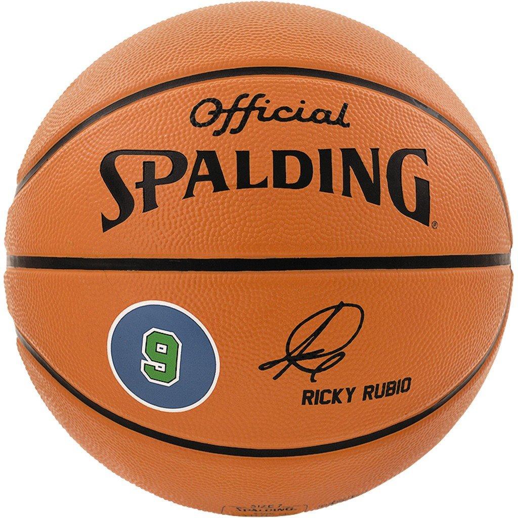 Spalding Ball Player Ricky Rubio 83-086Z - Pelota de baloncesto ...