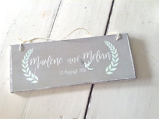 Hochzeitschild Hochzeitsgeschenk Gastgeschenk Hochzeit Turschild