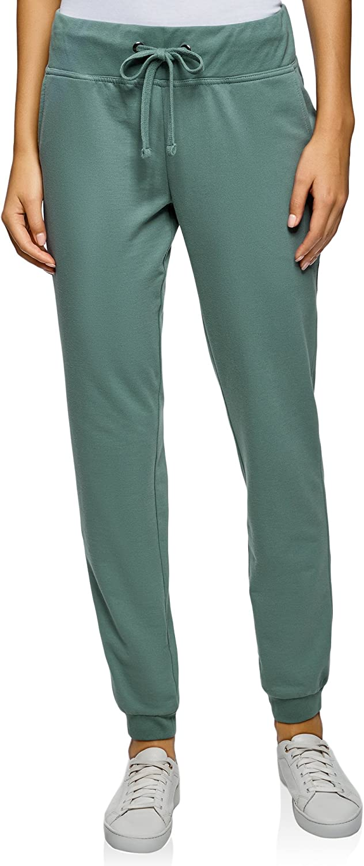 oodji Ultra Mujer Pantalones de Punto (Pack de 3), Multicolor, ES ...