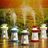 Hulorry Lighthouse Humidifiers, USB Ultrasonic
