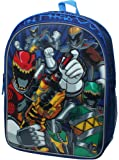 Power Rangers Unites Number 1 16 inch Backpack with Side Mesh Pockets
