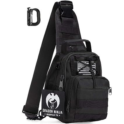 Dragon Ninja mejor Tactical Sling Bag mochila Militar ...
