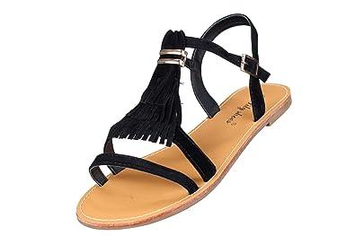 472957e65951c5 Lily shoes - Sandales Femme L322 Noir: Amazon.fr: Chaussures et Sacs