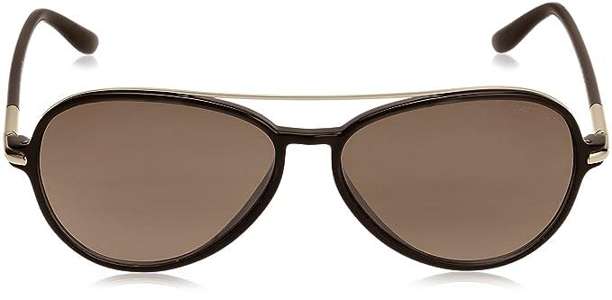 286ea5501913 Tom Ford Ramone TF 149 01J Black Gold Sunglasses  Amazon.ca  Clothing    Accessories