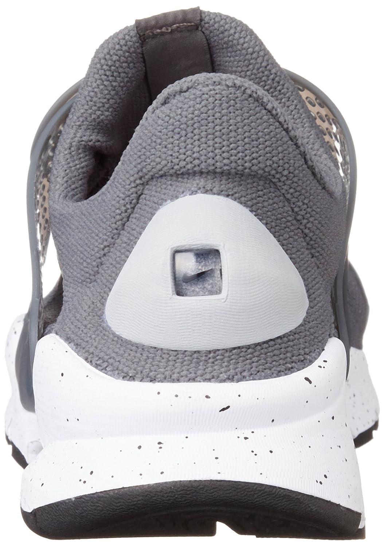 Nike Sock Dart, Chaussures de Running Entrainement Homme, Marrón (Marrón (Cargo Khaki/Black-Rattan-Total Crimson)), 46 EU