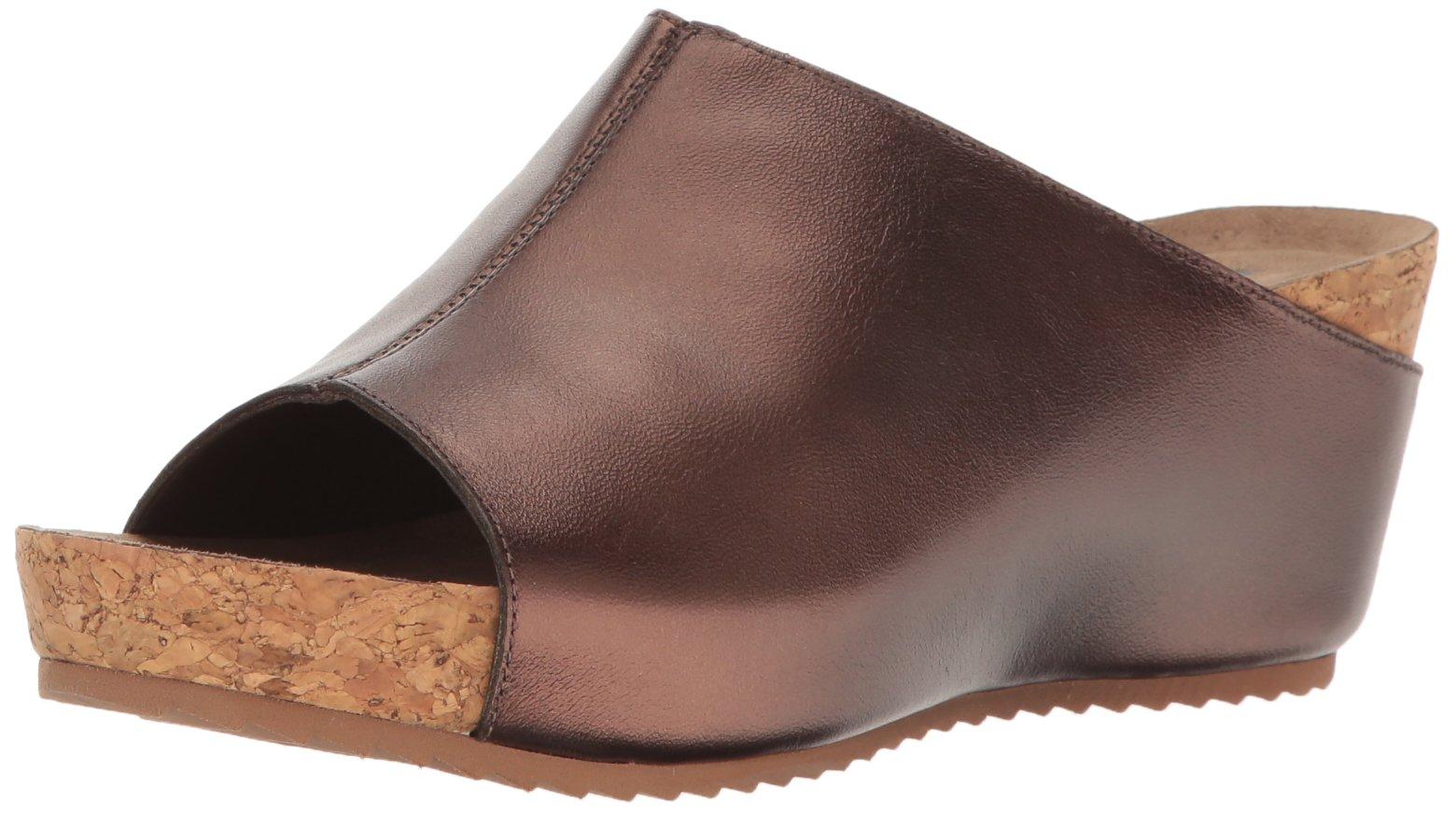 Walking Cradles Women's Tiegan Wedge Sandal, Copper, 7.5 2W US